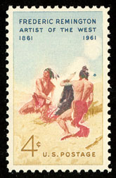 remington-artist-of-the-west-postage-stamp-1961