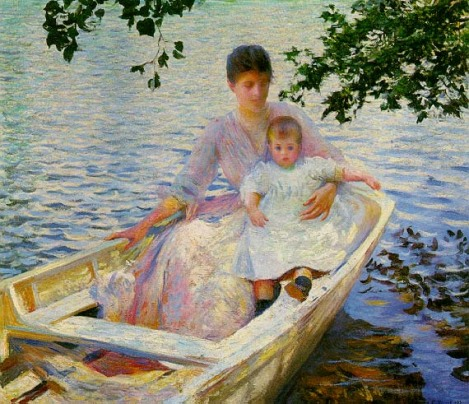 tarbell-mother-and-child-in-a-boat-mfa