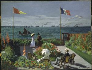 Monet - Garden at Sainte-Adresse (1867)
