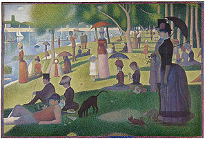 Seurat - Sunday Afternoon on the Island of La Grande Jatte
