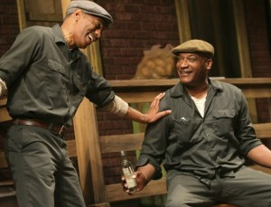Wiley Moore and Tony Todd in Fences
