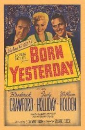 movie poster of Born Yesterday