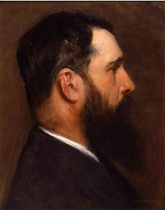 Sargent -- Portrait of Monet (National Academy NYC)
