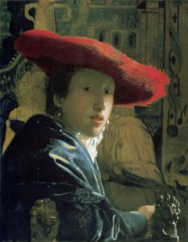 Vermeer -- Girl with a Red Hat