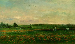 Daubigny - Fields in the Month of June