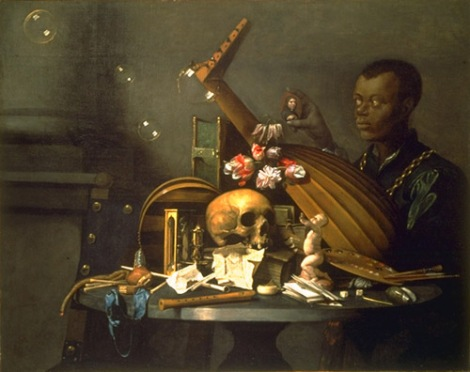 David Bailly - Vanitas Still Life with Portrait