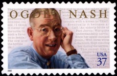 Nash postage stamp